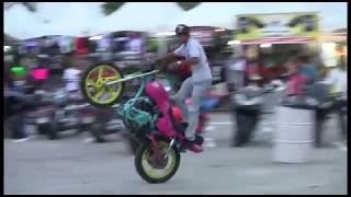Acrobacias Semana de la Moto 2014
