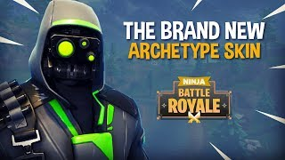 The Brand New Archetype Skin!! - Fortnite Battle Royale Gameplay - Ninja