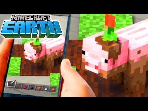 видео: MINECRAFT: EARTH! Новая игра от создателей Minecraft
