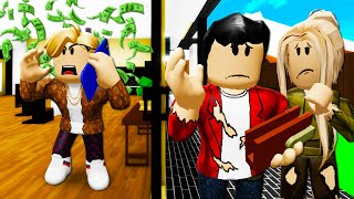Spoiled Child Finds Out His Parents Were Lying About Being Rich! A Roblox Brookhaven Movie (Story)
