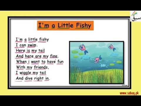 I Am A Little Fishy-Rhyme