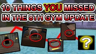 10 THINGS YOU MISSED IN THE 8TH GYM UPDATE!!! - Pokemon Brick Bronze