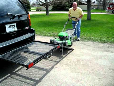 Luverne Truck Equipment Ramp It Cargo Carrier