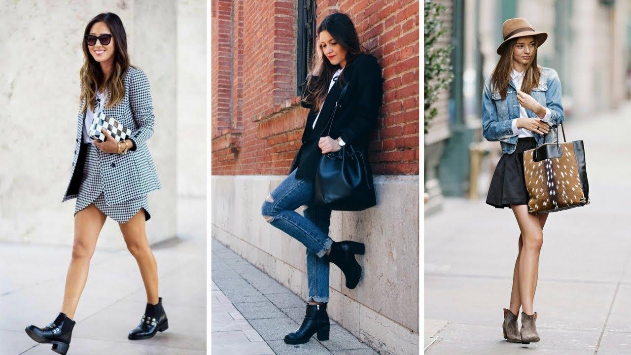 e5d5e4c78e OUTFIT CON BOTINES ♥  Moda  Fashion  Zapatos  Botines - YouTube