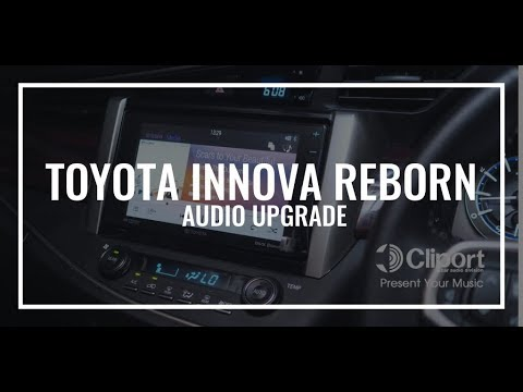 Toyota All New Innova Reborn Tipe Q Audio Upgrade By Cliport-Audio Bandung