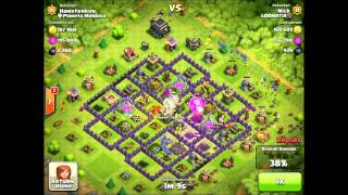 Loonatix Video #2 - Balloonion Strategy (Miniballs) Balloons and Minions Clash of Clans