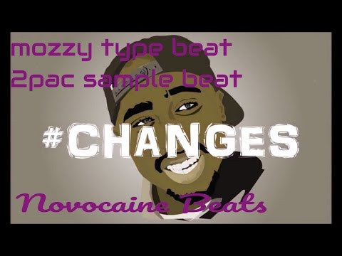 Mozzy ima gangsta - Type beat instrumental - 2pac Changes rap beat (prod by Novocaine Beats)