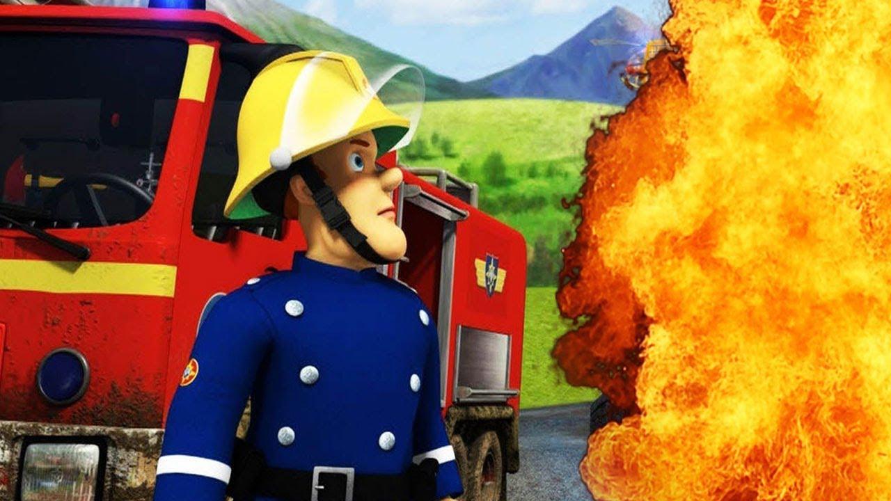 Sam lotta contro le fiamme 🔥 il pompiere italiano