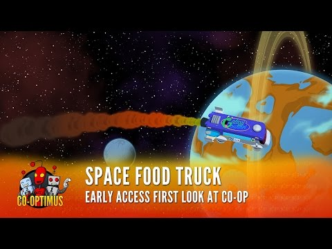 Space Food Truck - Co-Op Deckbuilding Game Stream