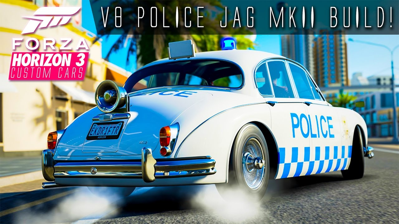 1002hp amg v8 mlg police jaguar mkii drift build forza horizon 3 custom cars 13 youtube. Black Bedroom Furniture Sets. Home Design Ideas