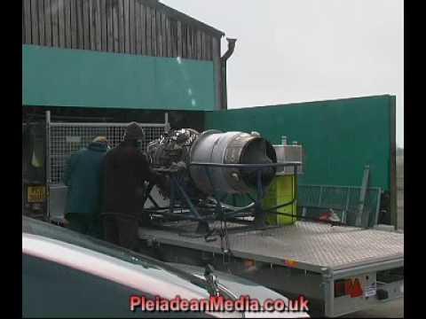 Rolls Royce Viper 535 1st test run.