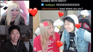 Toast And Yvonne Talk About How It Would Be IF They Dated Each Other