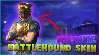 BATTLE HOUND SKIN back in the shop in FORTNITE Battle Royale - SHOWCASE!