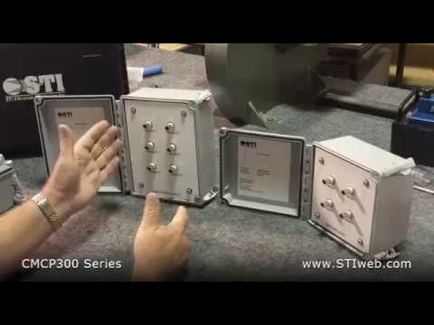 CMCP300FG NEMA 4X Fiberglass BNC Junction Box