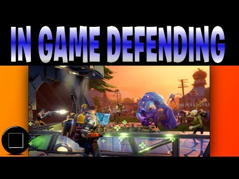 Fortnite - Save The World (Lets Defend)