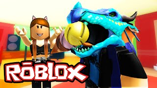 MAKING ICECREAM!! w/ ItsFunneh & GoldenGlare| Roblox Meep City