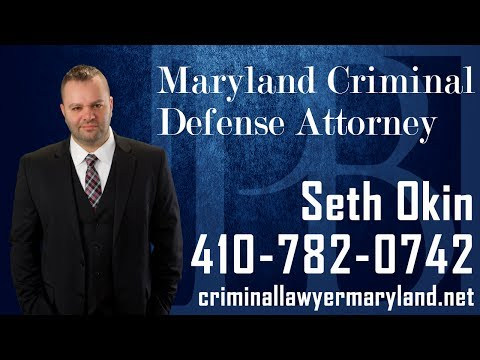 Criminal attorney Seth Okin discusses what a Maryland Criminal lawyer can do for you.