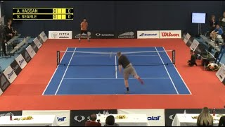 vuclip touchtennis Hassan vs Searle Full Match Masters Cup 17