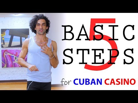 "5 Basic Steps for Casino (""Cuban Salsa"")"