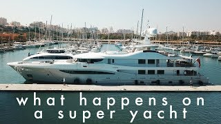 Have you ever wondered what yacht crew actually do? #yachtlife thumbnail
