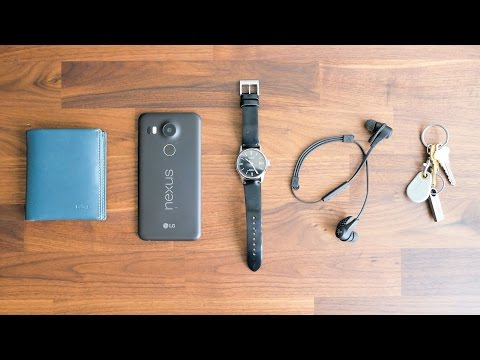 My Everyday Carry (EDC) - Just the Essentials (Watch, Wallet, Phone, Earbuds, Keys)