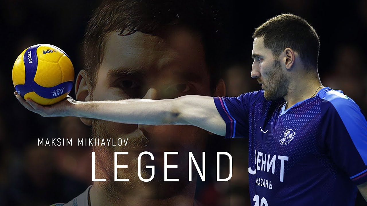 Maksim Mikhaylov | Volleyball Legend |  Legendary Volleyball Player