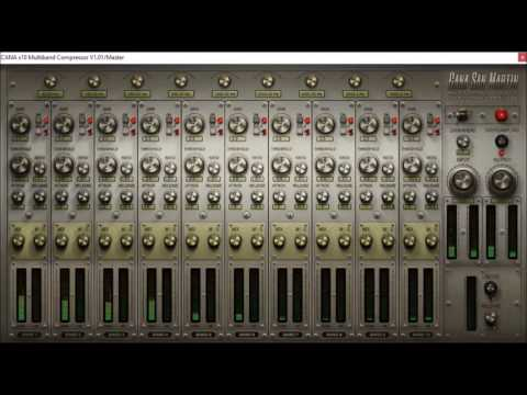 x10 Multiband Compressor v1.01 by Cana San Martin Mixing Tools