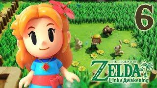 Marin and Animal Village: The Legend of Zelda Link's Awakening 2019: Gameplay Part 6