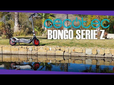Patinete Cecotec Bongo Serie Z (1100W): Sube cuestas sin despeinarse!!