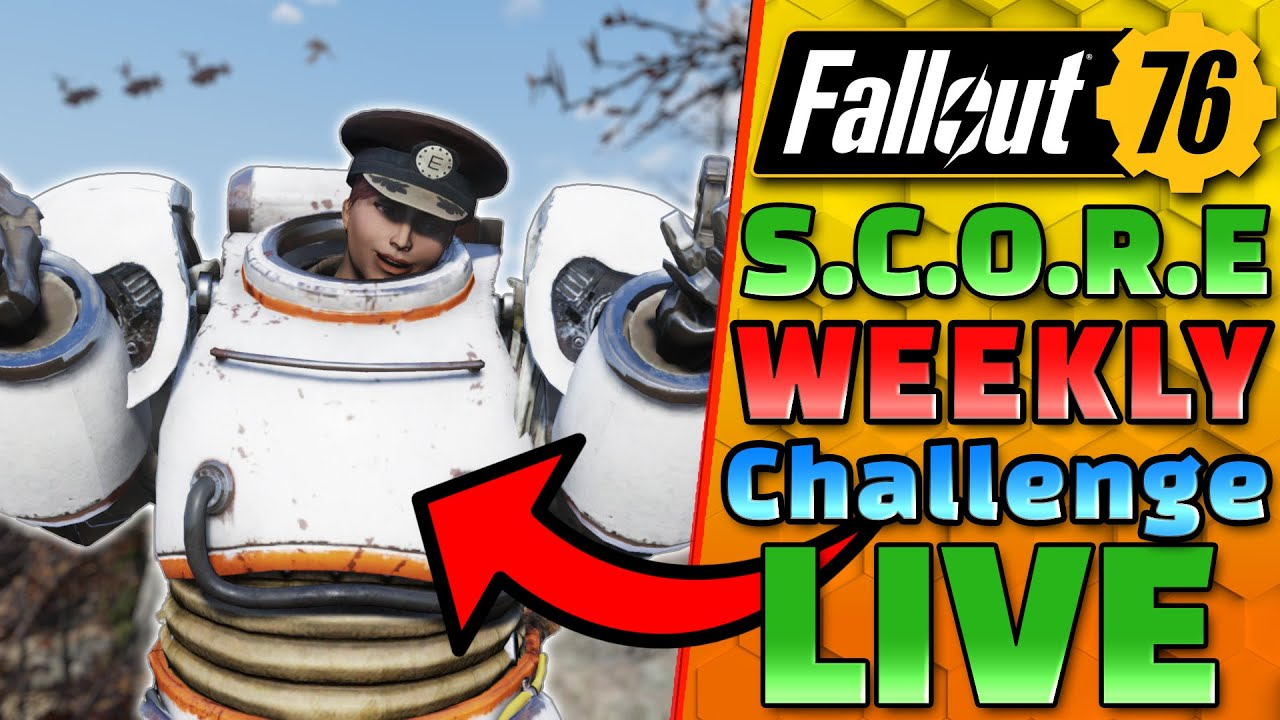 10 RANKS TO GO!! + NEW Weekly Challenges! - The LEGENDARY RUN - FALLOUT 76 1440P 60FPS Live