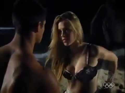 Rebelde Brasil - Alice e Pedro vivem clima de romance na praia (27/06/2012) 2ª Temporada