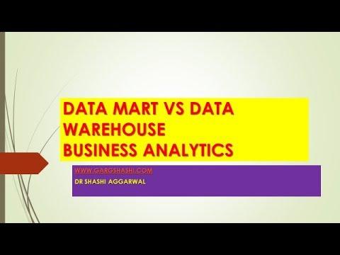 DATA MART VS DATA WAREHOUSING