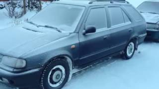 Škoda felicia 1.9D cold start -19