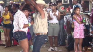 Cajun Girl Dancing-Zydeco Live Music Dancing Festival Trail Ride & Rodeo- Beaumont, TX