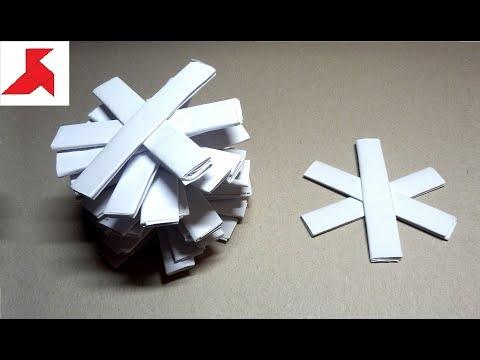 DIY – Как сделать Метательный СЮРИКЕН ниндзя из бумаги А4 своими руками?
