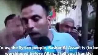 Tidak ada Tuhan Selain Assad, assad laknatullah!