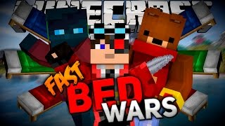 FAST BED WARS часть 3