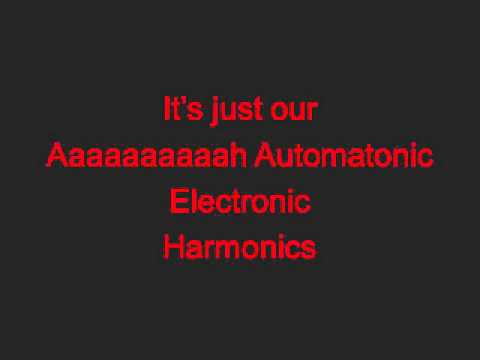 Automatonic Electronic Harmonics-Steam Powered Giraffe Lyrics