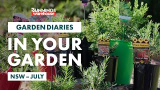 Gardening in July | NSW | Bunnings Garden Diary