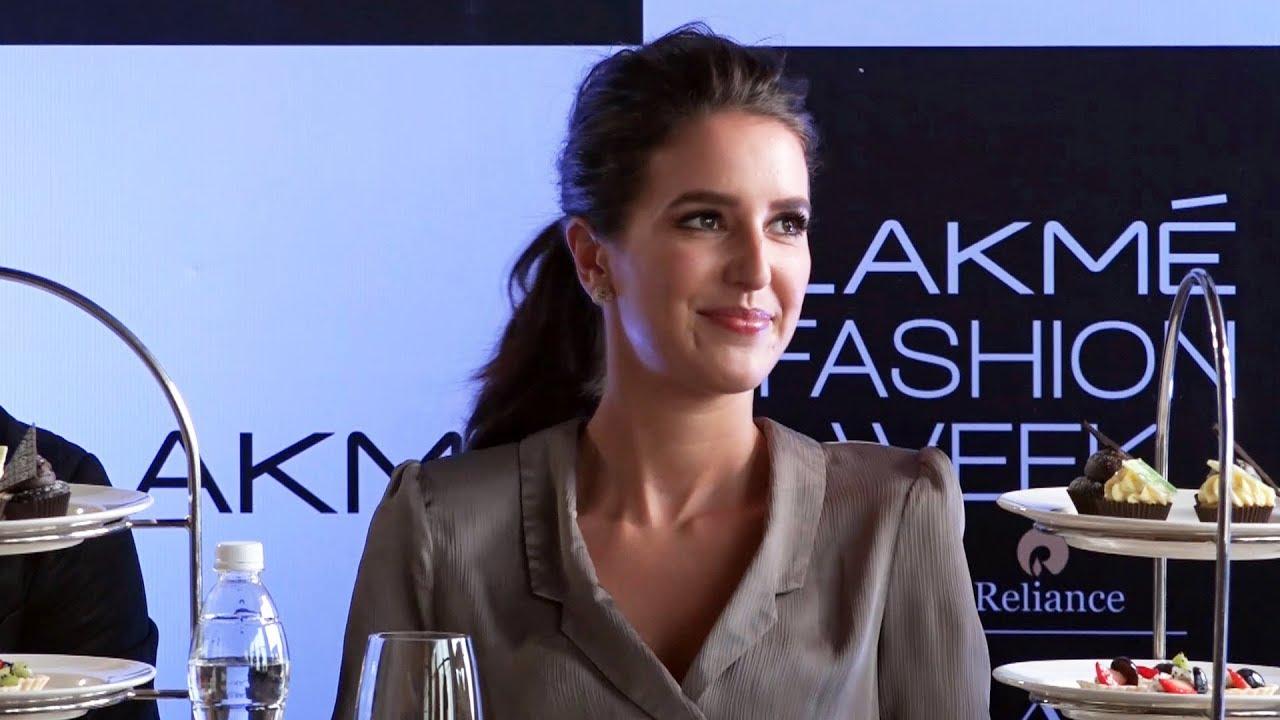 Katrina Kaif's Sister Isabelle Kaif Attended Lakme Fashion Week 2018 -  YouTube