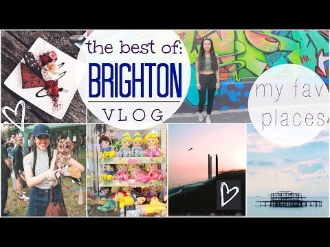BEST PLACES TO VISIT IN BRIGHTON || VLOG