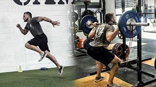 Strength and Power Workout For Sprinters | Overtime Athletes