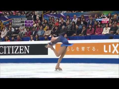 ユリア・リプニツカヤ~Julia Lipnitskaya~世界選手権SP