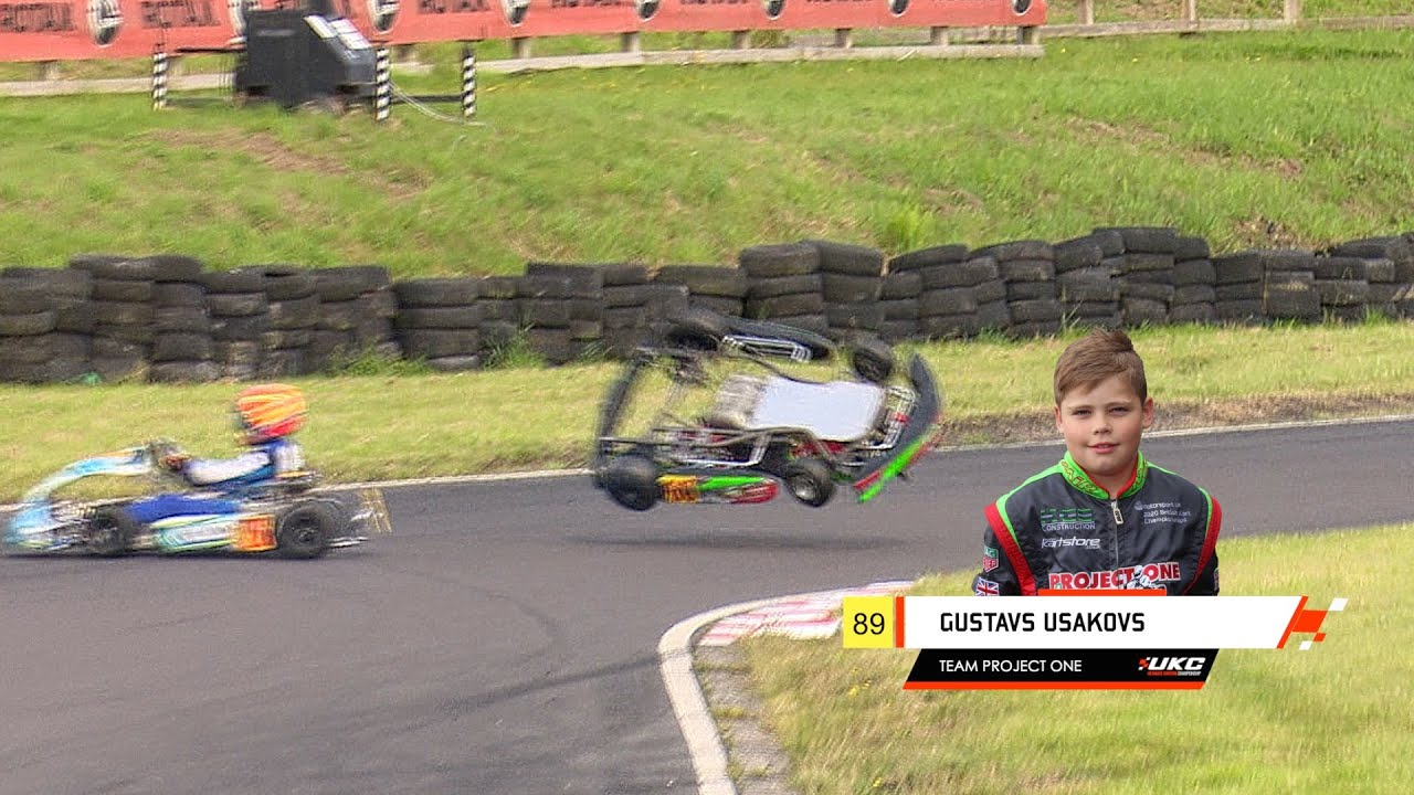 Download 2m+ views... Most Watched Kids' Kart Race Ever in first month! Honda Cadet Final, UKC Rd 3, Wigan.