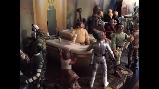 My Hasbro Star Wars Mos Eisley Cantina Diorama