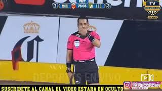Monarcas Morelia vs león 2-3 Gol anulado