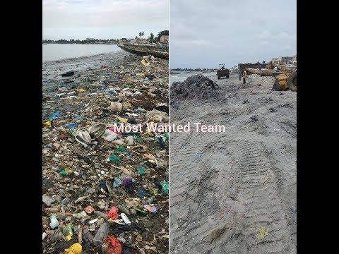 Nettoyage de la BAIE de HANN (Plage la plus sale du Sénégal) Partie 1