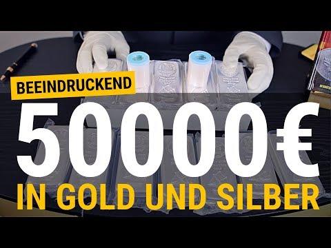 Gold Und Silber Kaufen Für 50.000 EUR ⚡ Der Ultimative Mix!