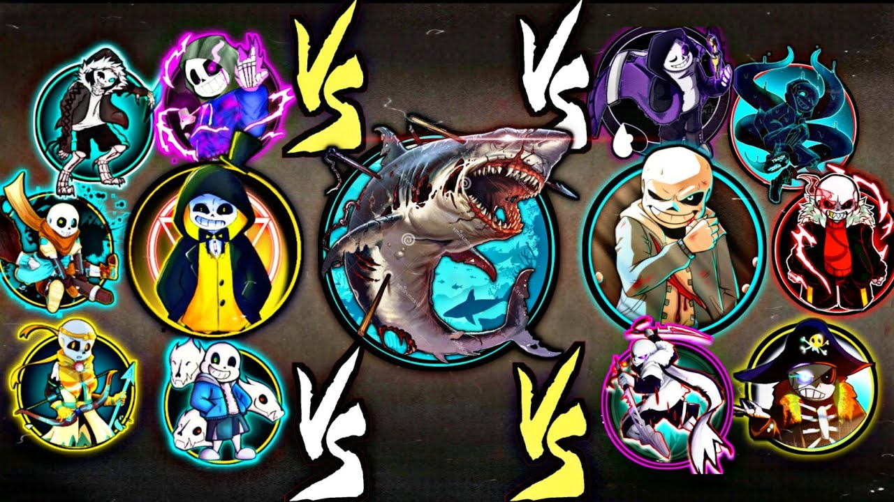 Shadow Fight 2 Zombie Shark Vs All Sans All Universe