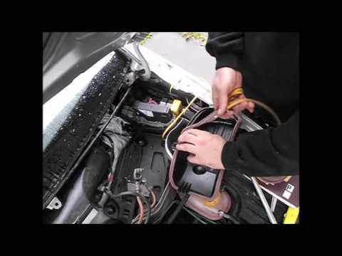 Water Pump Gasket >> Vauxhall Corsa C,Opel Corsa C - water inside - damaged gasket - YouTube